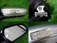 ニッサン/J31/ティアナ/LEDコーナーランプ付/ドアミラー/左右セット