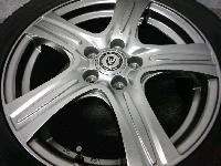 ダンロップ・DSX2/16インチ・スタッドレスタイヤ&アルミホイール/4本セット