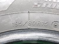 ヨコハマ/SY01/15インチ/スタッドタイヤ/4本セット