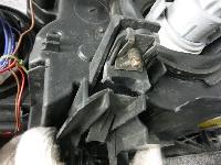 E46・318i/前期・イカリング付きヘッドライト&クリアランスランプ左右セット