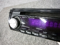 ケンウッド/CD・フロントAUX/1DIN・オーディオ