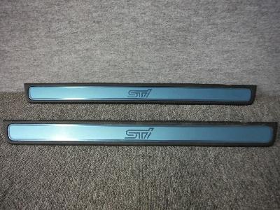 GRB・インプレッサWRX-STI/純正スカッフプレート