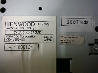 スバル純正オプション・ケンウッド/HDD・カーナビゲーション&地デジチューナー