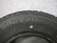 ダンロップ・WM01/スタッドレスタイヤ・155/80R13/4本セット