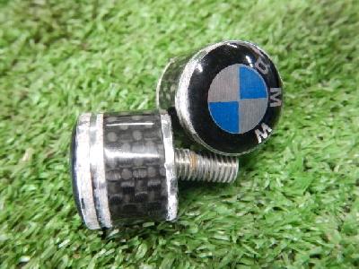 BMW/ナンバープレートネジ/ボルト/2個セット