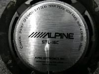 アルパイン/16cm・コアキシャル2ウェイスピーカー