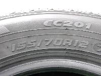 ダンロップ/EC201/12インチ/夏タイヤ/4本セット