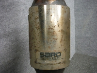 GDB・インプレッサWRX-STI(B型)/SARD・メタルキャタライザー・フロントパイプ