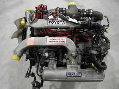 平成元年式/E-GZ20・ソアラ/1GGTEU・エンジン/オーバーホールベース