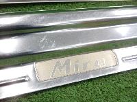 ダイハツ/L700V/ミラ/純正/スカッフプレート/フロント左右セット