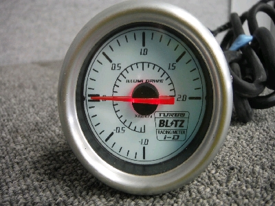 ブリッツ・ブースト計/60φ・機械式