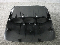 GDB・インプレッサ/ダッシュボード用・3連メーターフード