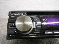 ケンウッド/CD&フロントAUX/1DIN・オーディオ