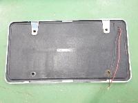 大型用/LEDナンバープレート/フレーム/2枚セット