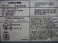 アルパイン/HDD・カーナビゲーション