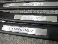 U30系・ハリアー/純正オプション・イルミ付きスカッフプレート前後左右4点セット