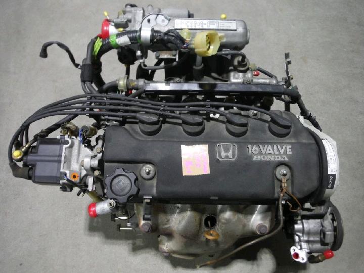 EF5 シビックシャトル エンジン ZC エンジン番号
