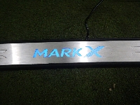 マークX/スカッフプレート/フロント左右セット/純正オプション/ジャンク品