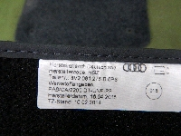 アウディ/A3・S3/フロアマット/1台分/新品