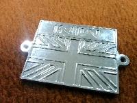 MINI/タルエンブレム/イギリス国旗/メッキ