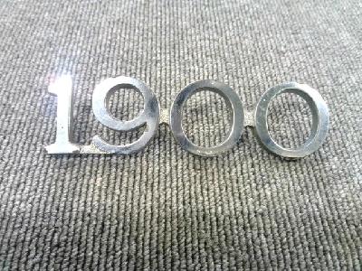 激レア旧車/トヨペット/マスターライン/RS36VB/1900エンブレム/バックドア用